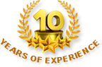 10- years experience